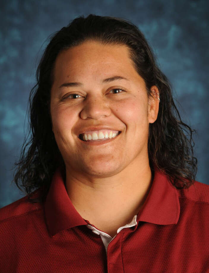 02/26/2014: NMSU assistant softball coach Tiala Tagaloa (Photo by Darren Phillips)