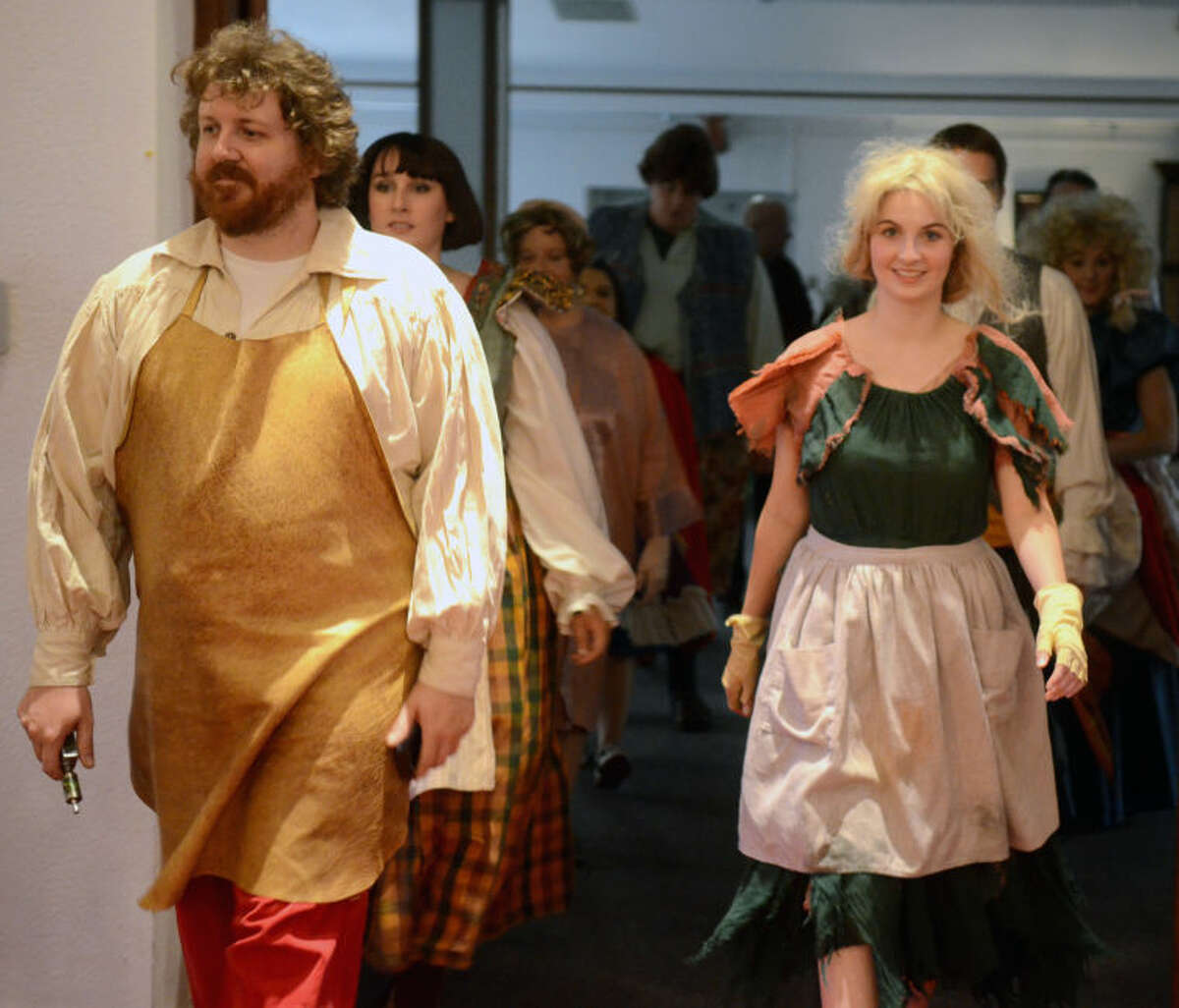 """Dress rehearsal of the production """"Into the Woods"""" on Tuesday at the Genesis Center. James Durbin/Reporter-Telegram"""