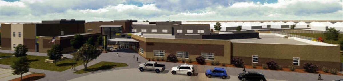 New elementary school in the southwest area of Midland in the Betenbough housing development. Tim Fischer\Reporter-Telegram