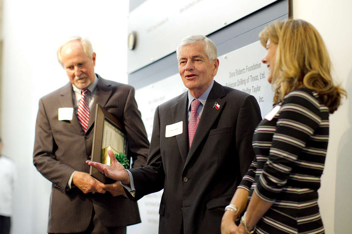Tom Craddick was honored during a special reception Wednesday, Sept. 23, 2015 at the Petroleum Museum. James Durbin/Reporter-Telegram