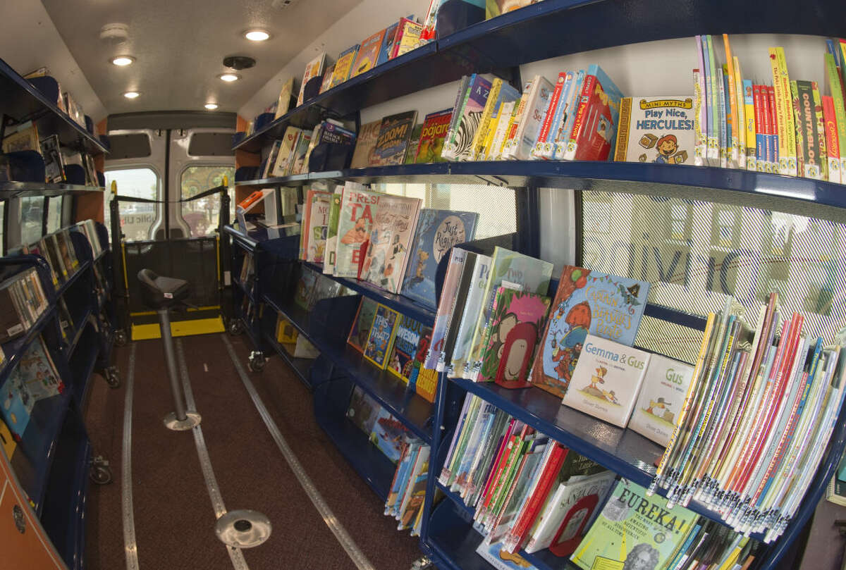Midland County Public Library will soon provide a mobile library to the public. Wednesday 8-26-2015 Tim Fischer\Reporter-Telegram
