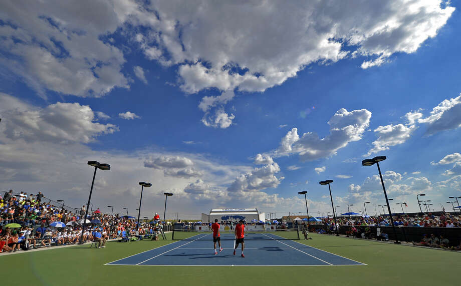 A packed Bush Tennis Center hosted the West Texas Tennis Classic on Saturday, Sept. 26, 2015, at James Durbin/Reporter-Telegram Photo: James Durbin