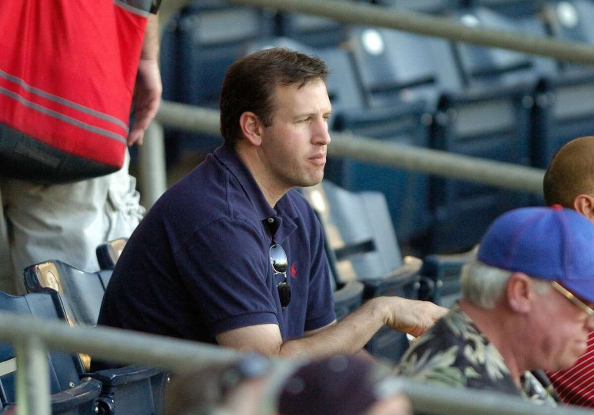 A's Asst. General Manager David Forst evaluates the Midland RockHounds players Friday during their game against the San Antonio Missions at Citibank Ballpark. Cindeka Nealy/Reporter-Telegram