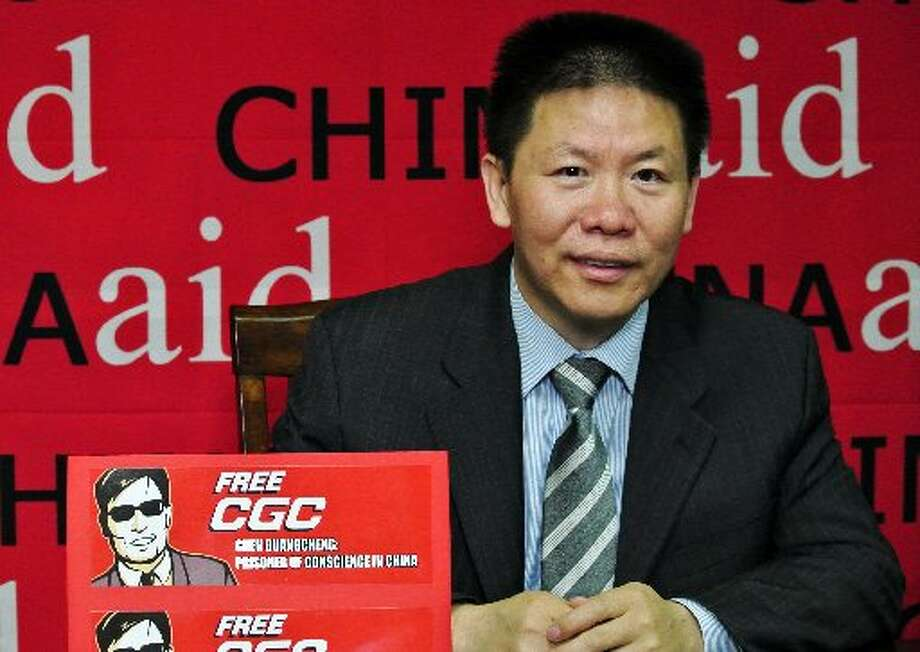 Bob Fu is founder and president of the Midland-based China Aid Association. Photo: AP/ChinaAid