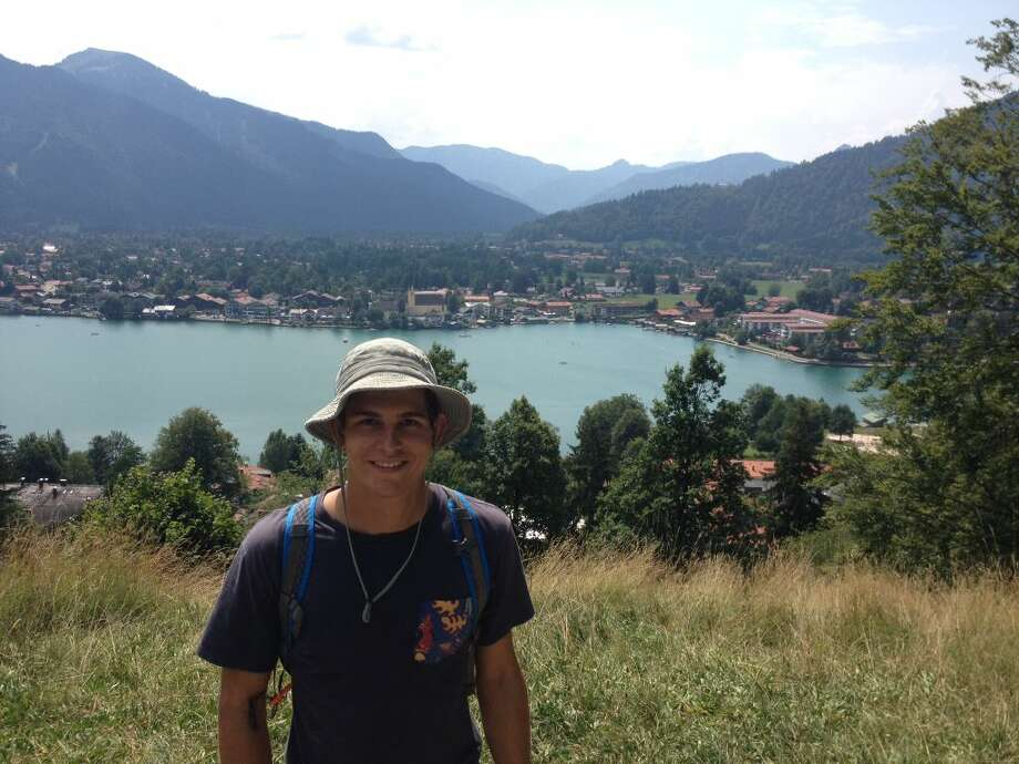 Trinity School senior Anthony Dragun visited Lake Chiemsee during his Lions Clubs International youth exchange program trip to Germany.