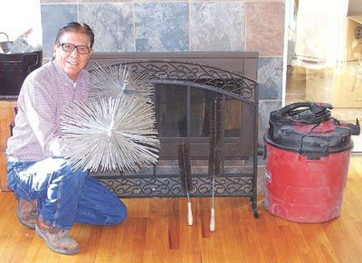 Longtime Midlander Bill Rodriguez of Bill's Fireplace Center has now joined the National Chimney Sweep Guild. Call him at 682-5157 to clean your fireplace and make sure it's safe for another winter's use.