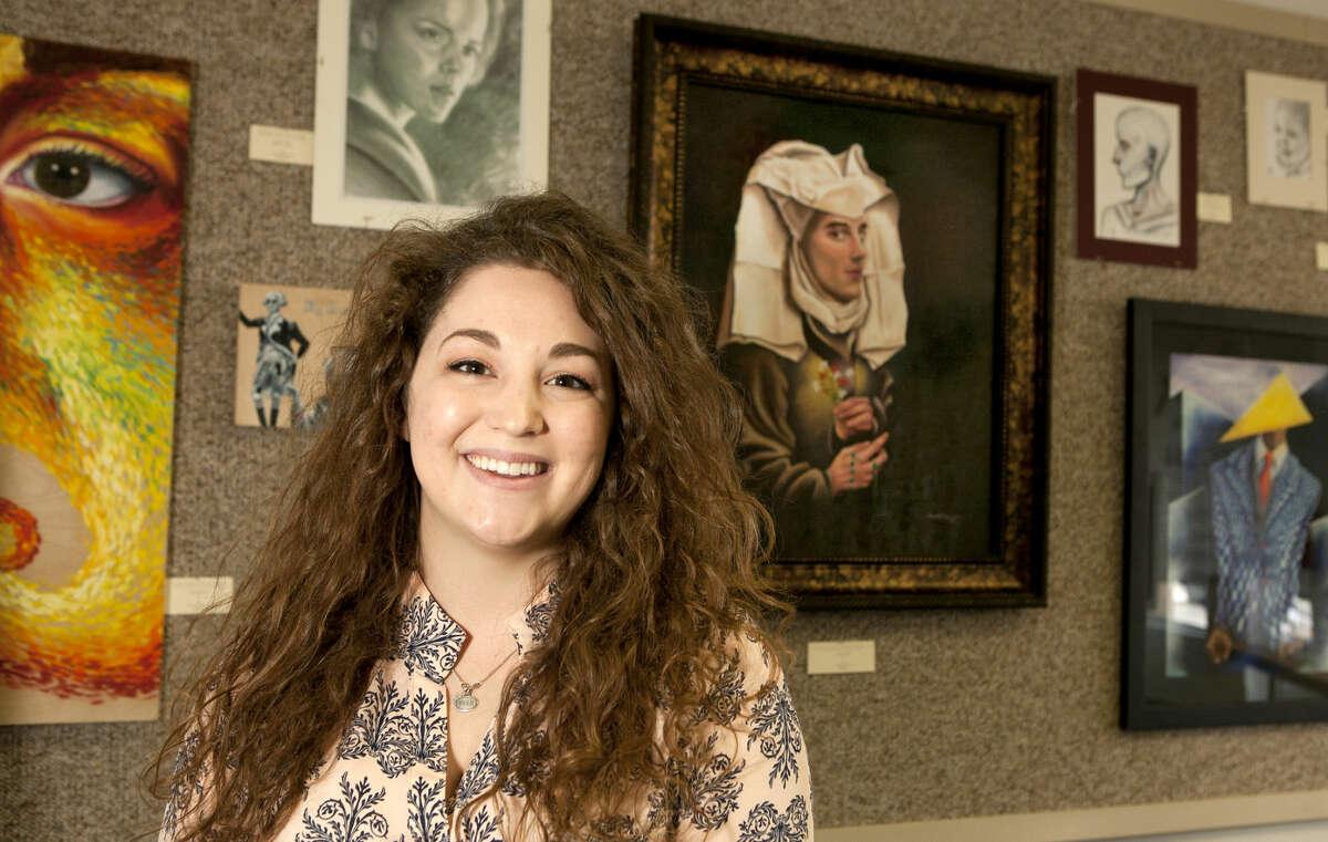 Portrait of artist Rachel Long. James Durbin/Reporter-Telegram