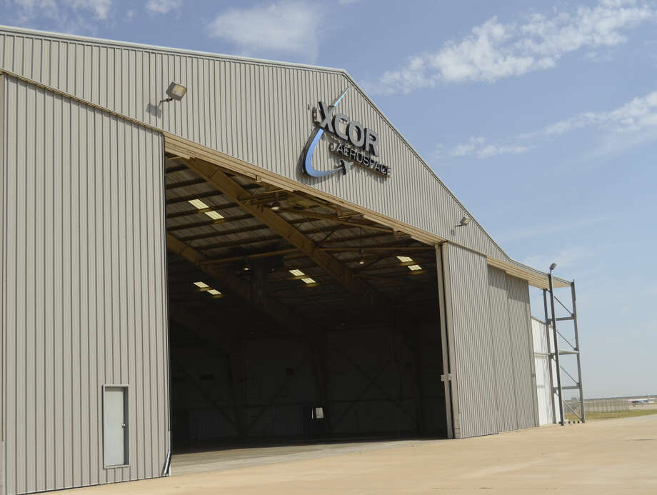 XCOR Aerospace Hanger, on the south end of land near Business 20, at Midland International Airport. Tim Fischer\Reporter-Telegram Photo: Tim Fischer