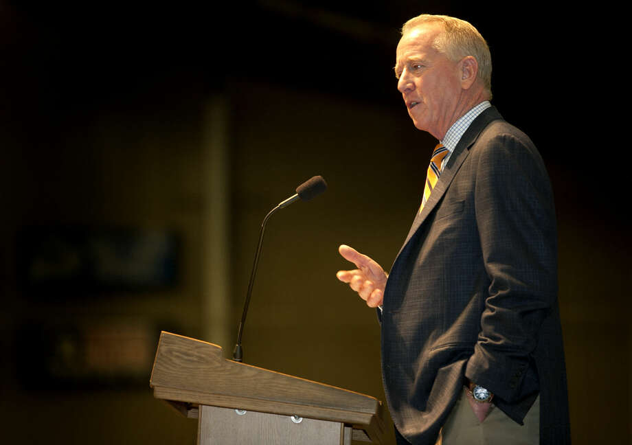 """An Evening With Archie Manning"" fundraiser for Centers for Children and Families on Thursday at Horseshoe Arena. James Durbin/Reporter-Telegram Photo: James Durbin"