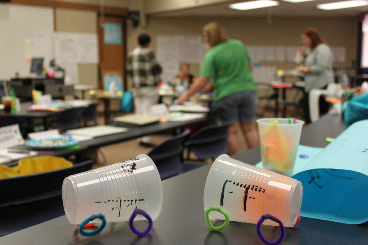 Project-based learning was the subject of a four-week STEM Academy training this summer.