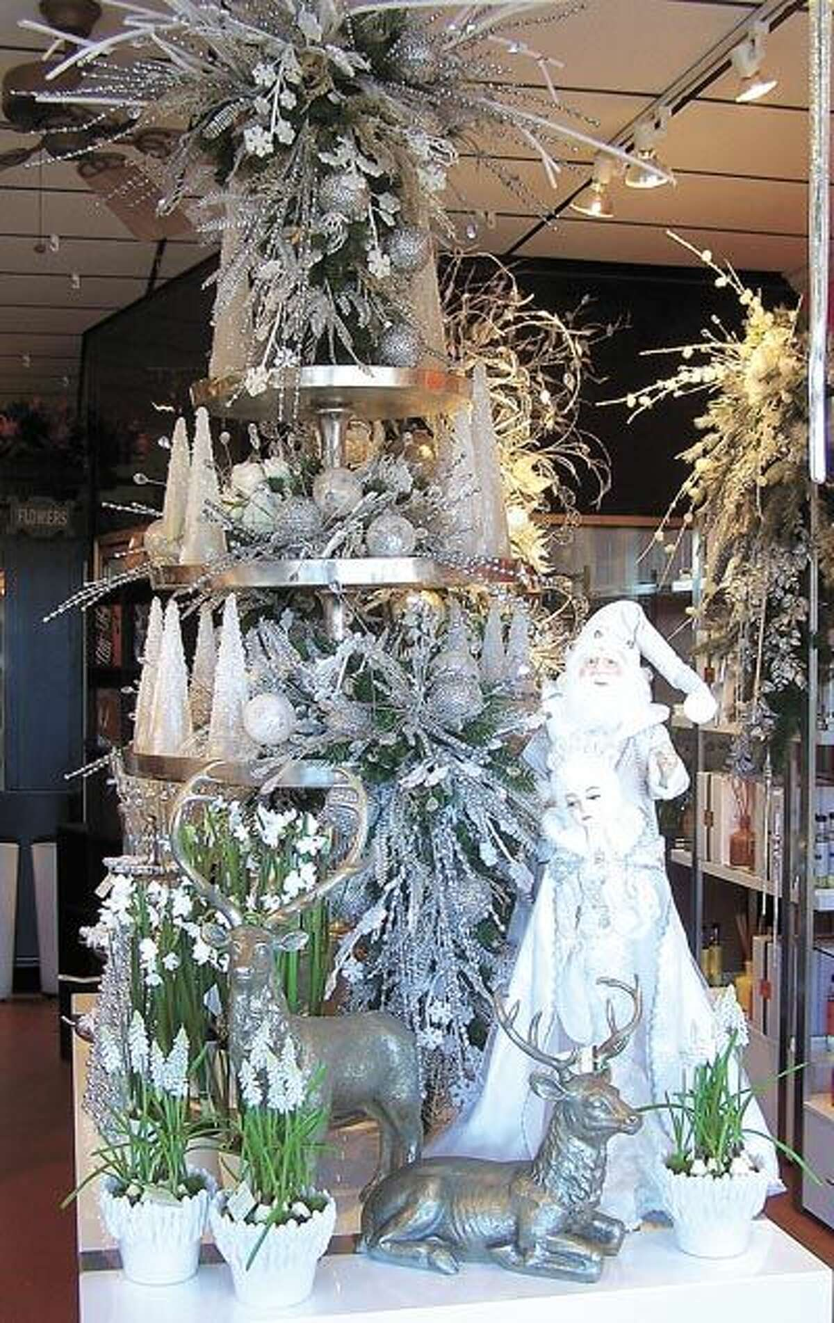 It's more than dreaming, you're really seeing a white Christmas at Flowerland. See their open house this Saturday October 24 from 10-4 and sign up for door prizes. All merchandise is available for sale!