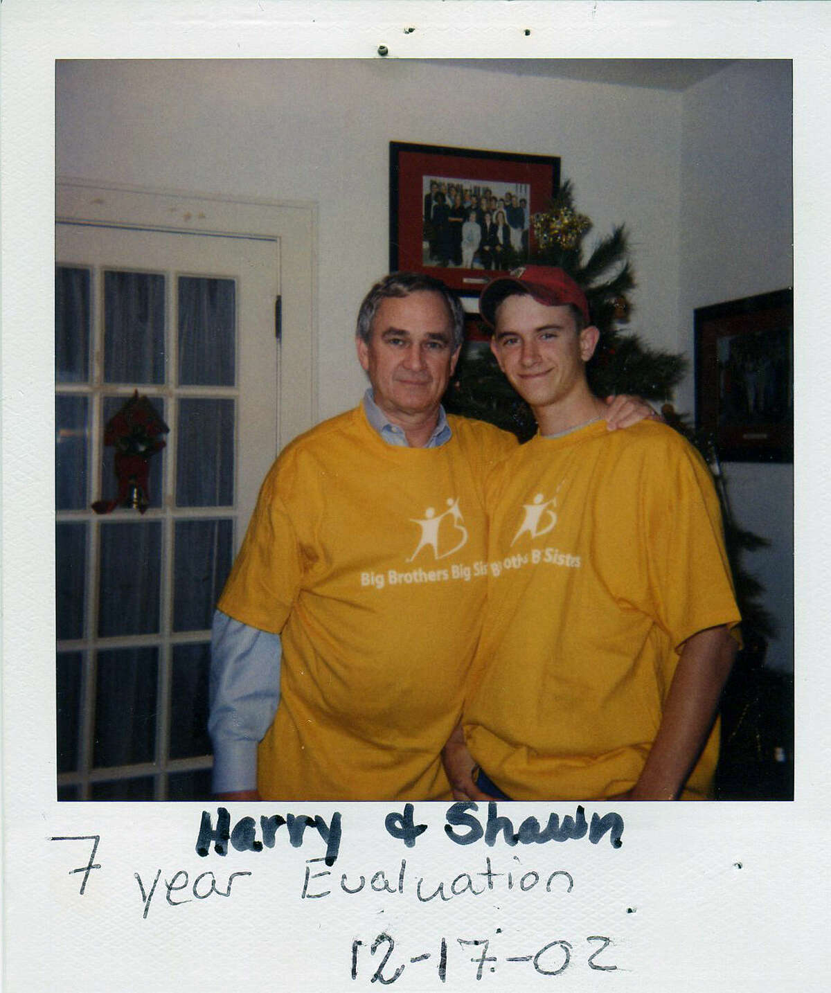 Harry Tate, left, included little brother Shawn Cox in many family outings.