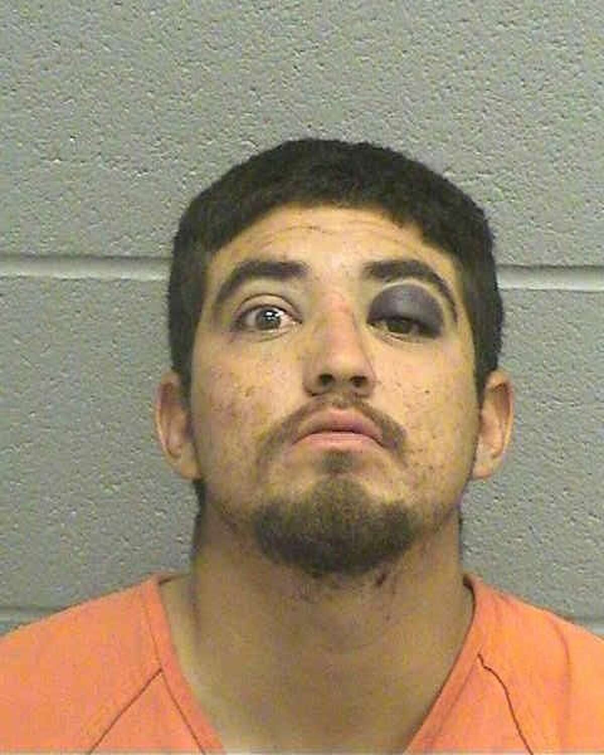 Christopher G. Ibarra, 22, was charged with two third-degree felonies of evading arrest in a motor vehicle and assault of a public servant. He was being held October 5 on a $10,000 bond for evading arrest and a $50,000 bond for the assault.An officer was southbound on the 2400 block of North Big Spring Street about 10 p.m. October 3 when a vehicle pulled out from the east side of the street, failed to yield to the police vehicle and almost caused a crash, according to the arrest affidavit.The officer then turned on the emergency lights and siren in order to initiate a traffic stop, but the driver, later identified as Ibarra, continued driving, according to the affidavit. After a pursuit, another officer threw stop sticks in front of the vehicle at the intersection of West Dengar Avenue and North Main Street. At this point, Ibarra pulled in a driveway on Dengar, according to the affidavit.