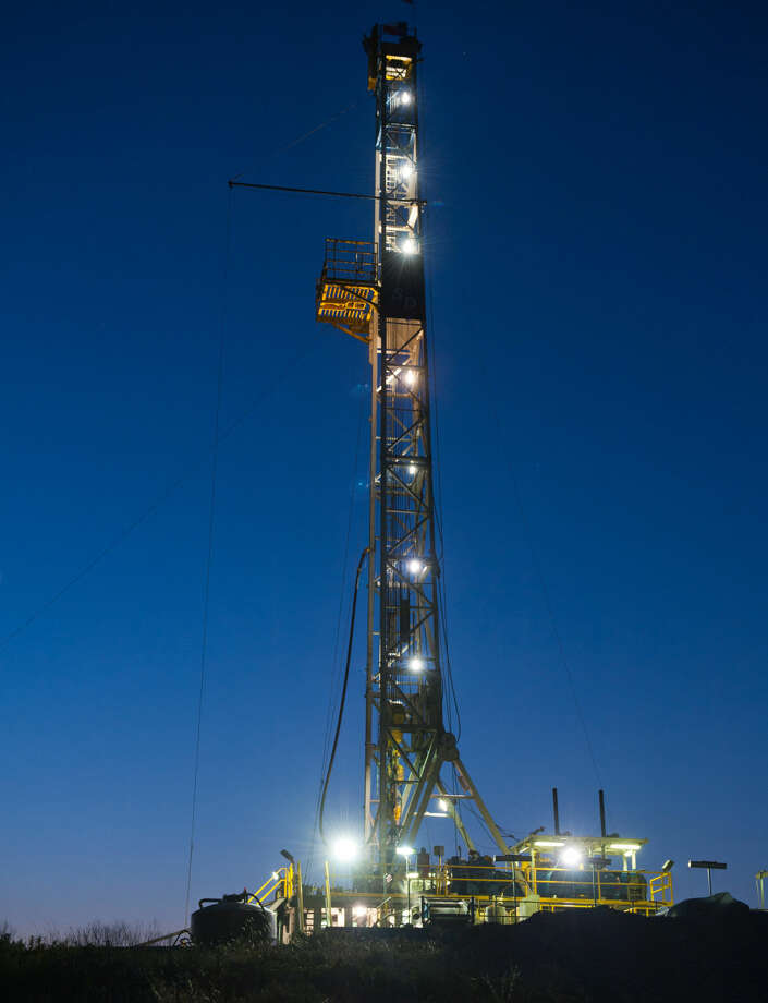 EnerVest rig on the Dean B pad site near Weatherford, TX (Photos by EnerVest) Photo: EnerVest