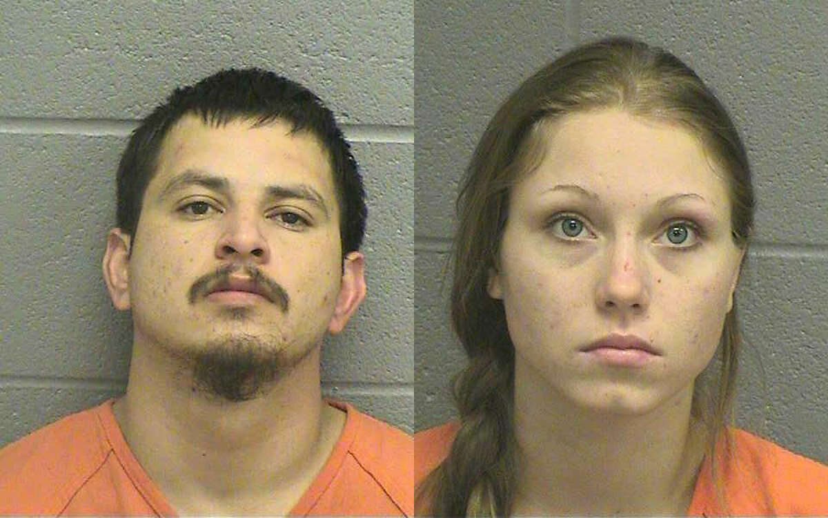 Jesus Gonzales, 26, and Ashleigh Bennett, 19, are facing charges for possession with intent to distribute methamphetamine. The two suspects, who are believed to be living in Midland, also will face additional charges, according to a press release from the city's spokeswoman. They were brought into custody following an undercover narcotics investigation that led to the discovery of several types of drugs and weapons in a Midland residence.