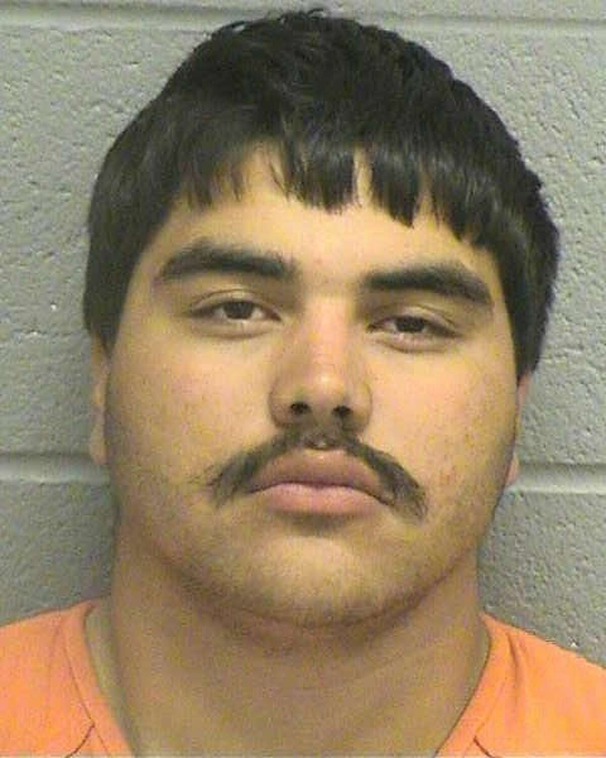 Omar Saenz Jr., 18, was being held Oct.12 on a $25,000 bond for the second-degree felony charge of aggravated assault with a deadly weapon.Saenz wasarrested Oct.9 after allegedly beating another man over the head with a glass beer bottle.
