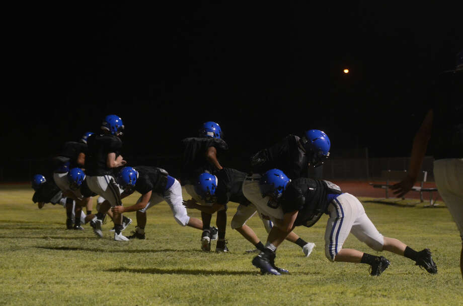 Trinity Midnight Madness practice early Thursday morning. James Durbin/Reporter-Telegram Photo: James Durbin