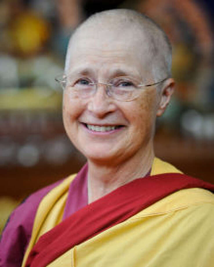 "Workshop ""The Secret of Good Luck"" with Buddhist nun Kelsang Chondzin, 10 a.m.-1 p.m. Saturday at Unitarian Universalist Church of Midland. meditationinlubbock.org"