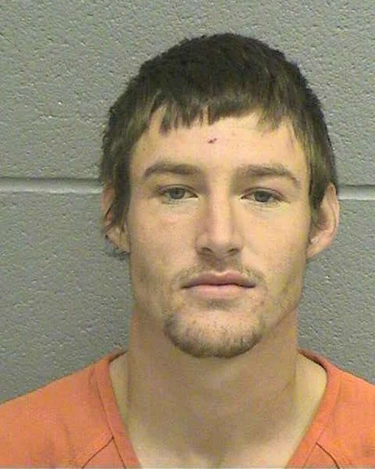 Kyle L. Richardson, 23, was arrested early Saturday for allegedly dragging a woman down stairs and choking her.Richardson was charged with a third-degree felony of assaulting a family/house member impeding breath. He was being held Oct.26 on a $30,000 bond.