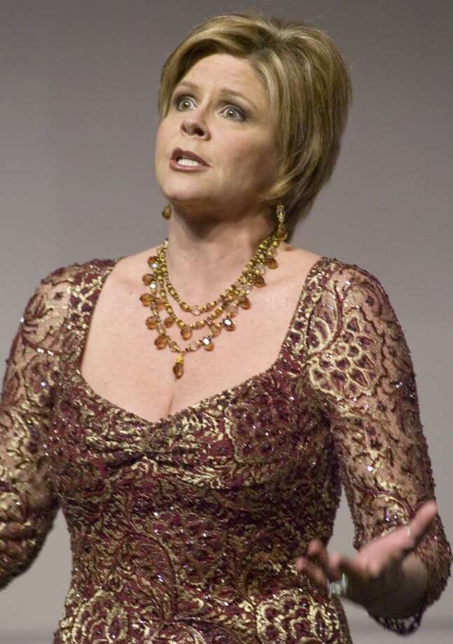 Susan Graham, mezzo soprano, and Lee High graduate, is to perform Saturday at the Wagner Noel. Photo: Tim Fischer/Reporter-Telegram
