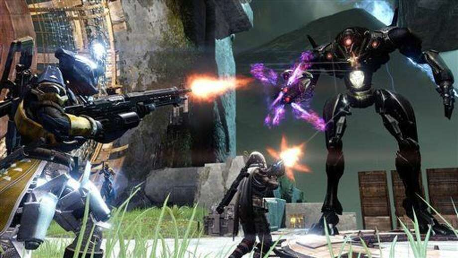 "In this video game image released by Activision, a scene is shown from ""Destiny."" (AP Photo/Activision) Photo: HONS"