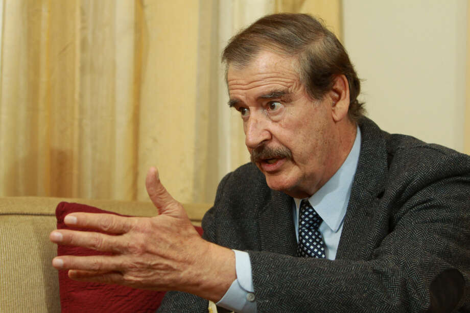 (For the Chronicle/Gary Fountain, December 6, 2013) Former president of Mexico, Vicente Fox. Photo: Gary Fountain/Houston Chronicle