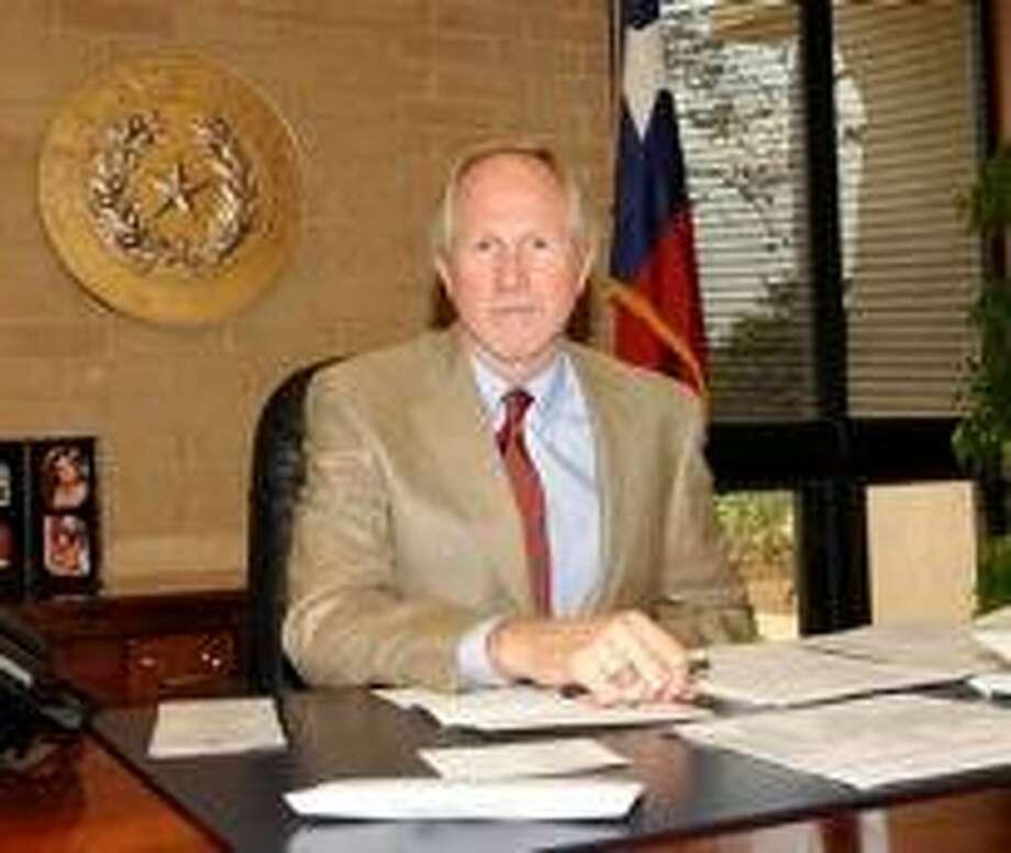 Midland College president Dr. Steve Thomas Photo by Reid Merritt 8/15/08