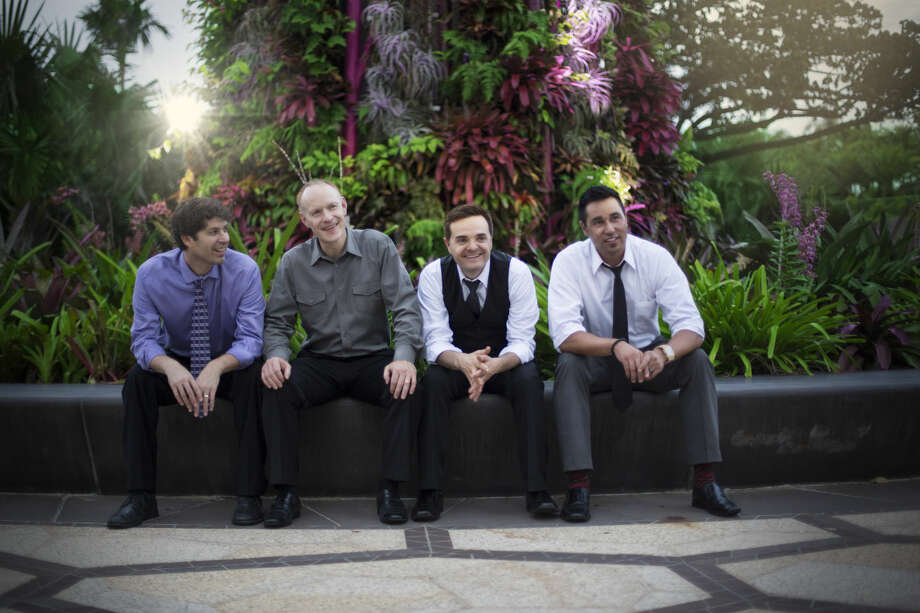 The Piano Guys will be performing 7:30 p.m. Monday at Wagner Noel Performing Arts Center. Photo:  Courtesy Photo