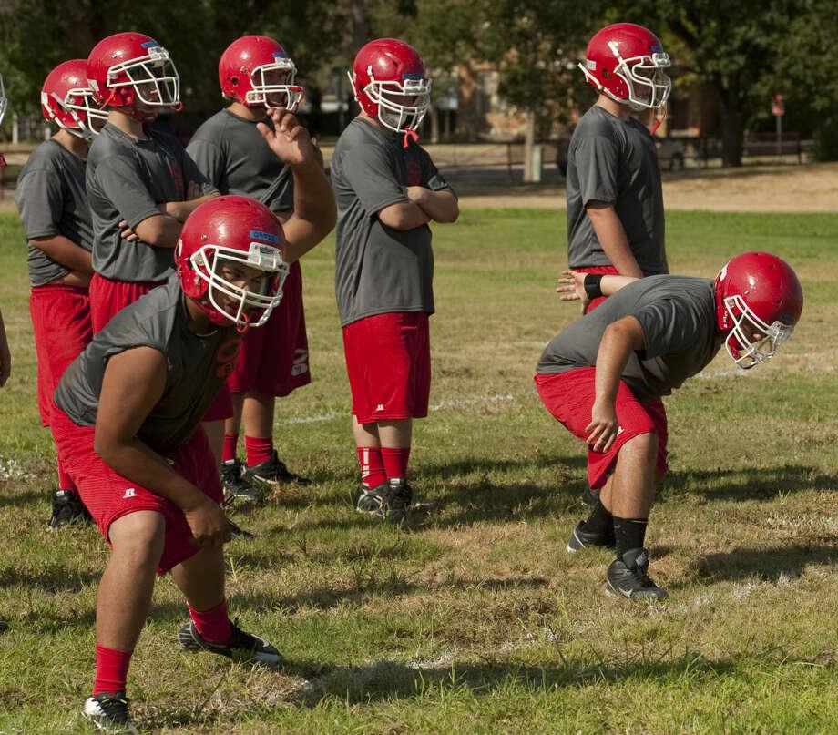 Coahoma players run drills during practice. Tim Fischer\Reporter-Telegram Photo: Tim Fischer