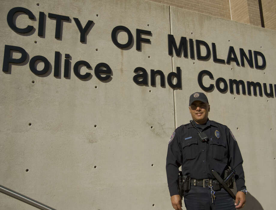 Midland Police Department Officer Mark Dominguez. Thursday 11-5-2015 Tim Fischer\Reporter-Telegram Photo: Tim Fischer