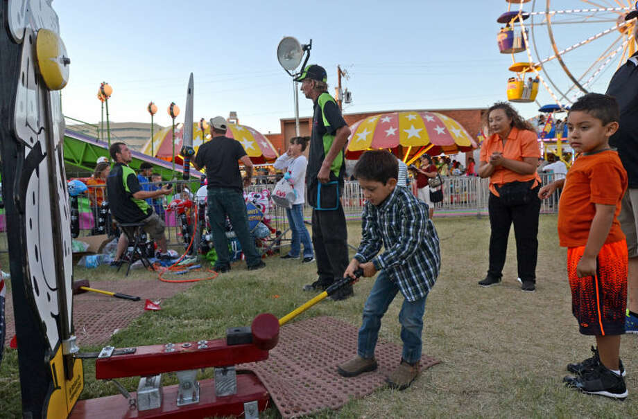 St. Ann's Fair in 2013. James Durbin/Reporter-Telegram Photo: JAMES DURBIN