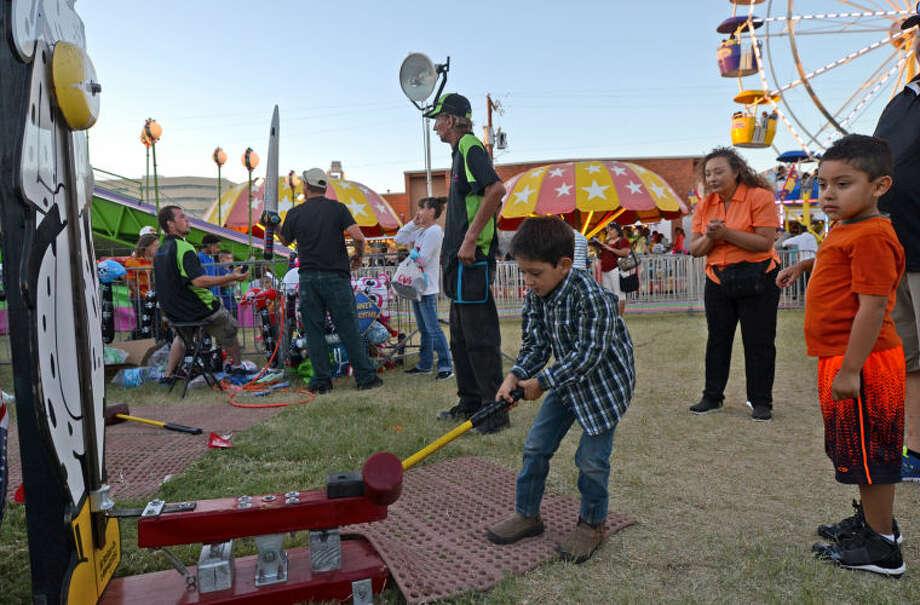 St. Ann's Fair in 2013. James Durbin/Reporter-Telegram Photo: JAMES DURBIN