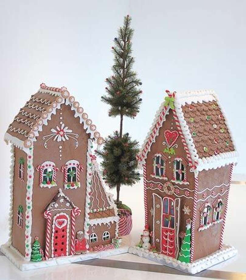Gingerbread houses and so many other delights of the season are on display now at Flowerland, 413 Andrews Highway in Midland. The phone number is 682-1634.
