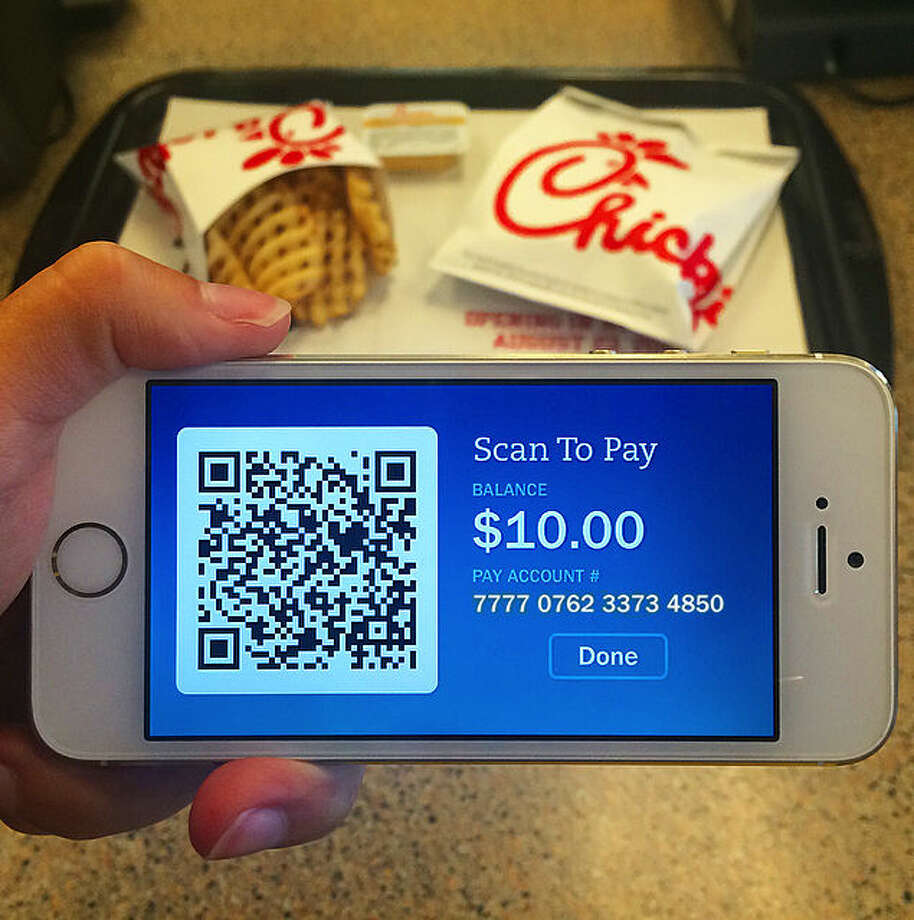 The Atlanta-based restaurant chain is rolling out a new mobile payment system at the West Texas Chick-fil-A locations that enables customers to use their smartphones to pay for meals via a special Chick-fil-A App feature. Photo: Courtesy Photo