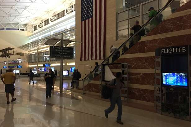 American Eagle flight 2791 landed at 11:05 p.m. Tuesday at Midland International Airport with 69 people on board.