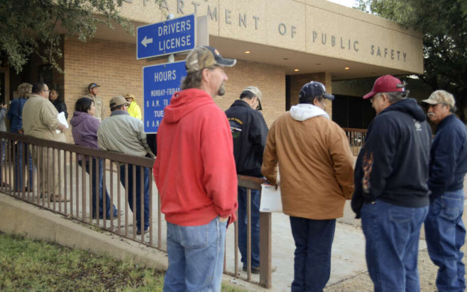 Texas residents now must provide a photo id to cast a ballot, those without a drivers license can receive a free election certificate from the DPS office. Tim Fischer\Reporter-Telegram Photo: Tim Fischer