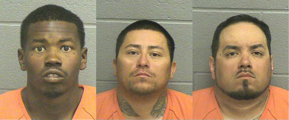 Christopher Jones, 26, and Joe Chavez, 31, both of Fort Worth, were arrested on a second-degree felony charge of robbery and were being held Nov.9 on a $50,000 bond. John Riojas, 30, of Weatherford is also being held on a second-degree felony charge of robbery, but bond has not been set, according to court records.