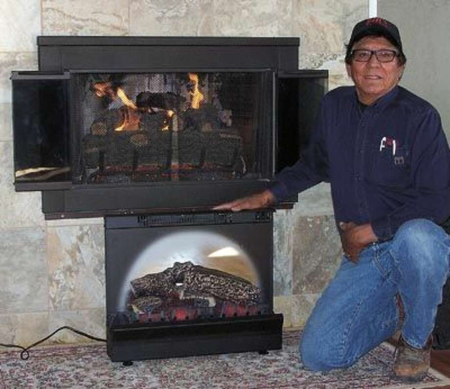 There's nothing like gas or electric logs to warm your toes and create a cozy mood in the winter time. Call Bill Rodriguez at 682-5157 to learn more.