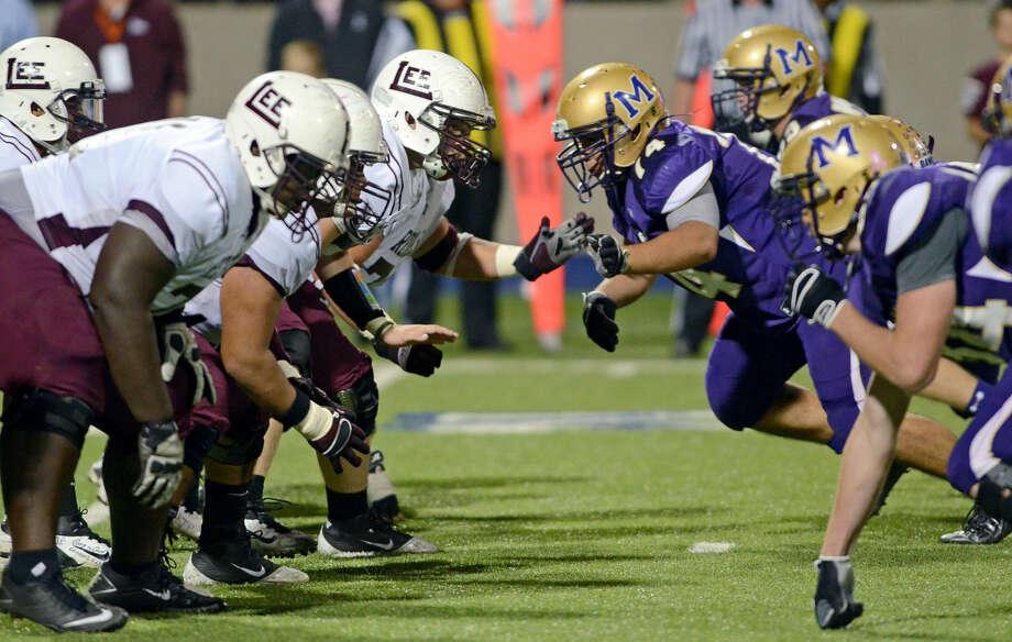 Midland High vs Midland Lee High Friday, October 19 at Grande Stadium in Midland. Photo: James Durbin/Reporter-Telegram
