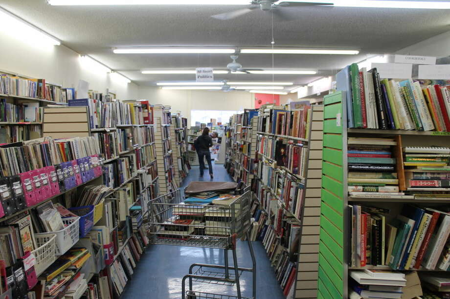 Dig deep for book bargains at Friends Bookstore. Photo: Photo By Steve Kuhlmann