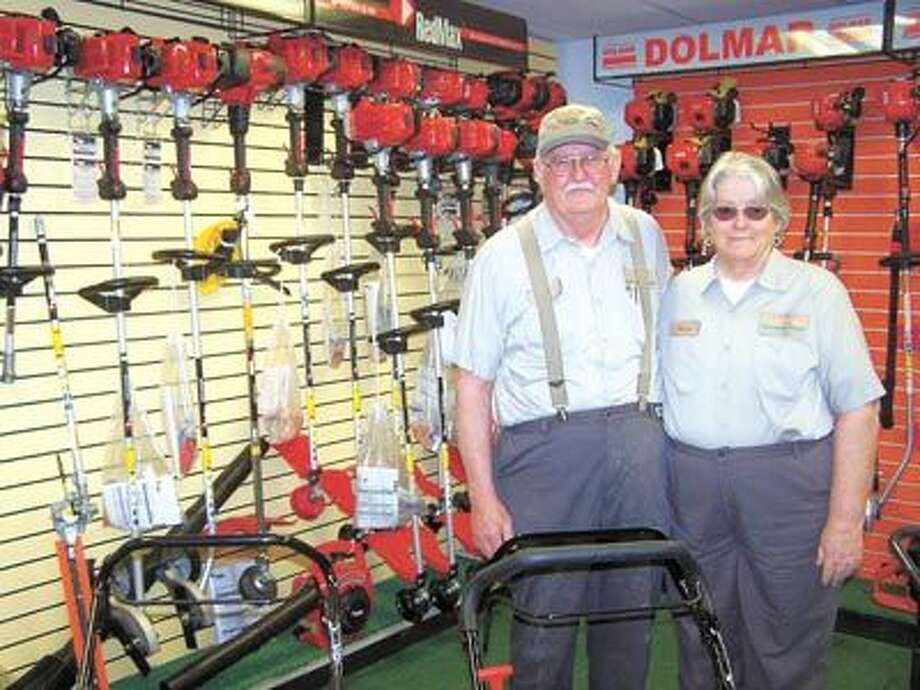 Carl and Nona Hollums invite you to get a great price on a Red Max chainsaw while supplies last. Southwest Lawnmower is at 3105 West Front.
