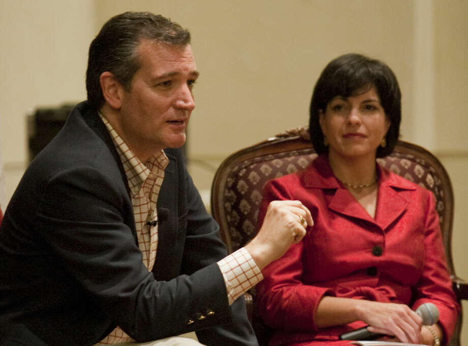 Texas Railroad Commission Chairman Christi Craddick moderates a discussion with U.S. Senator Ted Cruz, Carly Fiorina from California and Louisiana Governor Bobby Jindal speak Thursday during the Texas Victory 2014 Q&A at the Wagner Noel Performing Arts Center. Tim Fischer\Reporter-Telegram Photo: Tim Fischer