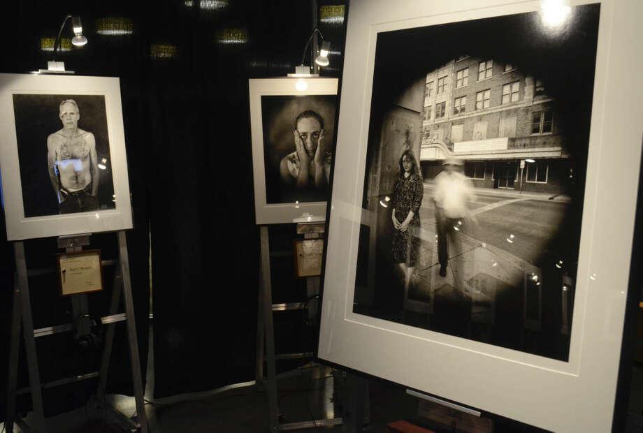 Fine Line photography exhibit at Midland County Library Centennial Branch. Tim Fischer\Reporter-Telegram Photo: Tim Fischer