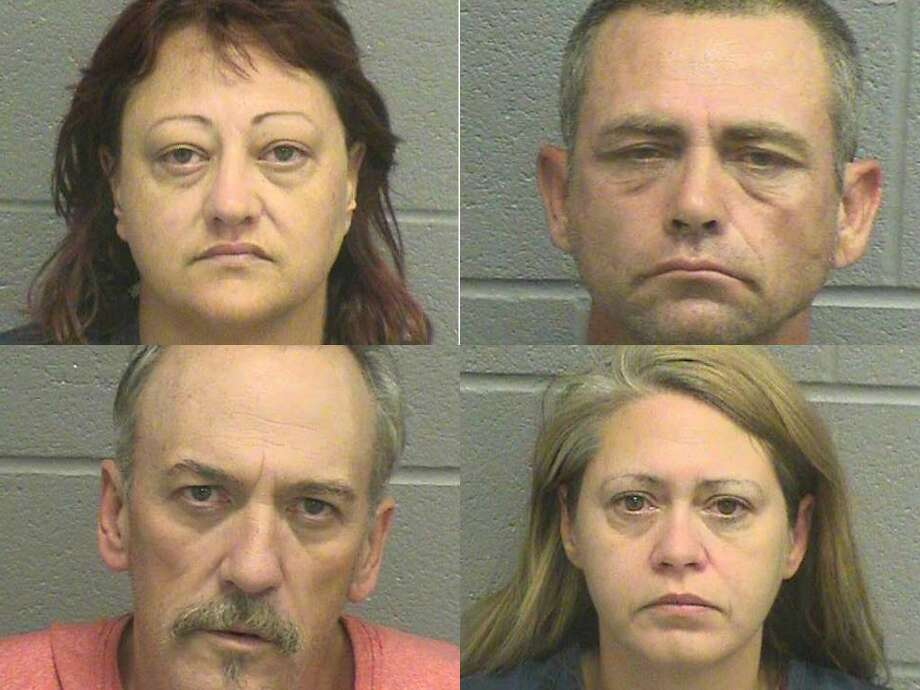 Rhonda Harper, 41, of Odessa, was arrested Oct. 21 on a third-degree felony charges of fraudulent use or possession of identification information and possession of a prohibited substance in a corrections facility.Johnny D. Hortter, 45, Iva J. Harrison, 43, and James Christopher Harrison, 49, all of Goldsmith were also arrested on the fraud charge.The suspects tried to pass bad checks and officers later found them in possession of numerous driver's licenses, credit cards and bank checks that did not belong to them. Harper also tried to hide a crack pipe in her bra when being processed at the jail, according to Reporter-Telegram records.If convicted, the suspects face up to 10 years in prison for each felony.