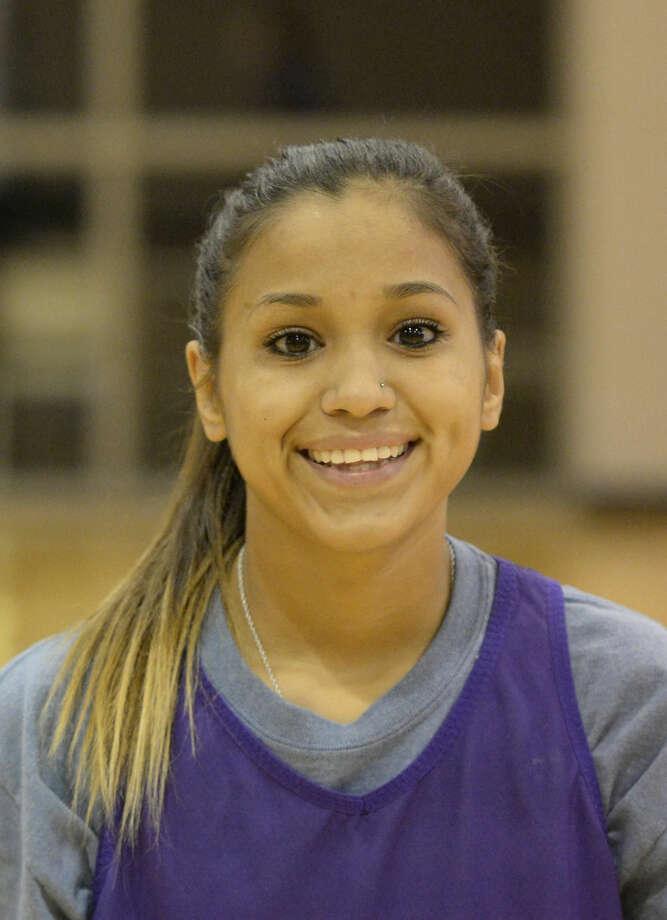 Midland high girls basketball mugs 2015 - Amber Salcido (11) James Durbin/Reporter-Telegram Photo: James Durbin