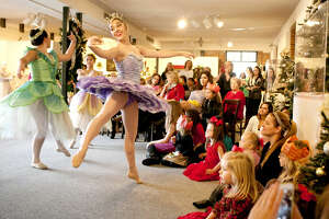 Members of Midland Festival Ballet put on a Nutcracker ballet demonstration to participants at the Christmas at the Mansion open house event at the Museum of the Southwest on Saturday. The open house event also featured a mother-daughter brunch. James Durbin/Reporter-Telegram
