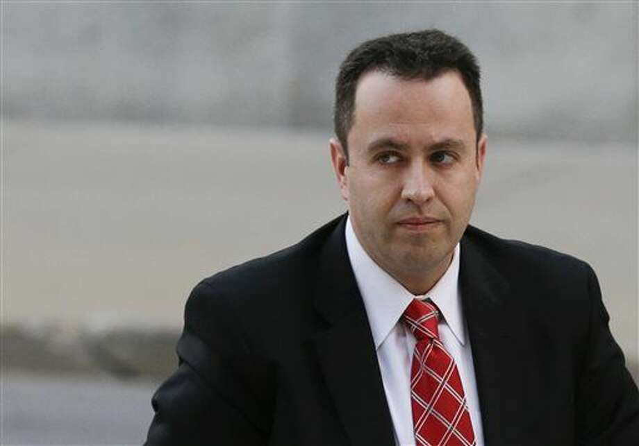 FILE - In this Nov. 19, 2015 file photo, former Subway pitchman Jared Fogle arrives at the federal courthouse in Indianapolis. Fogle, sentenced after he pleaded guilty, filed a notice of appeal Dec. 14, 2015 in the child pornography and sex crime case that sent him to prison for more than 15 years. (AP Photo/Michael Conroy) Photo: Michael Conroy