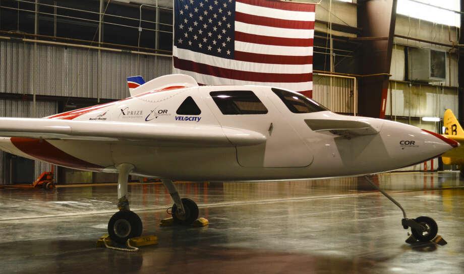 XCOR Aerospace plane. Tim Fischer\Reporter-Telegram Photo: Tim Fischer