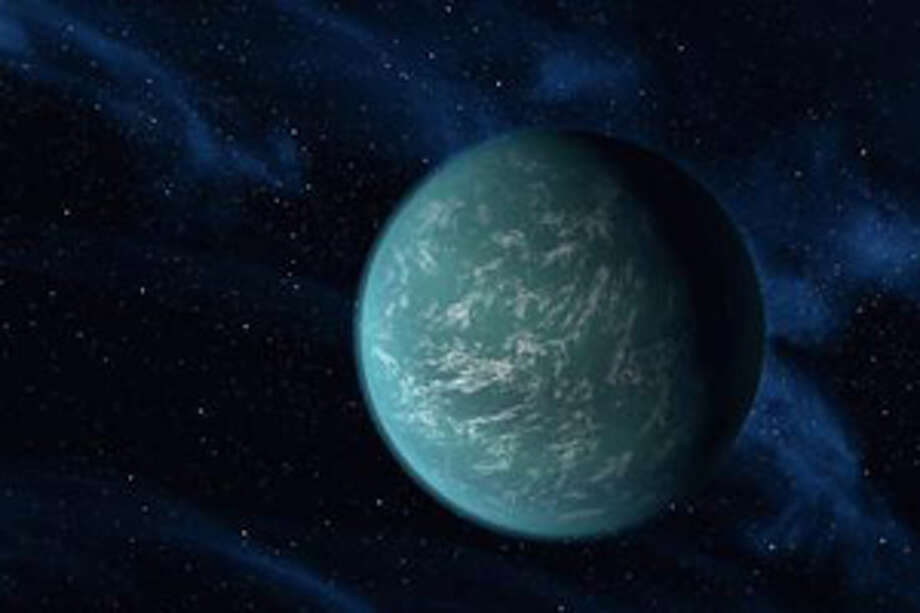 Kepler-22b, a planet known to comfortably circle in the habitable zone of a sun-like star. It is the first planet that NASA's Kepler mission has confirmed to orbit in a star's habitable zone --the region around a star where liquid water, a requirement for life on Earth, could persist. NASA has found the new planet outside our solar system that's eerily similar to Earth in key aspects. Scientists say the temperature on the surface of the planetis about a comfy 72 degrees. Its star could almost be a twin of our sun. It likely has water and land.