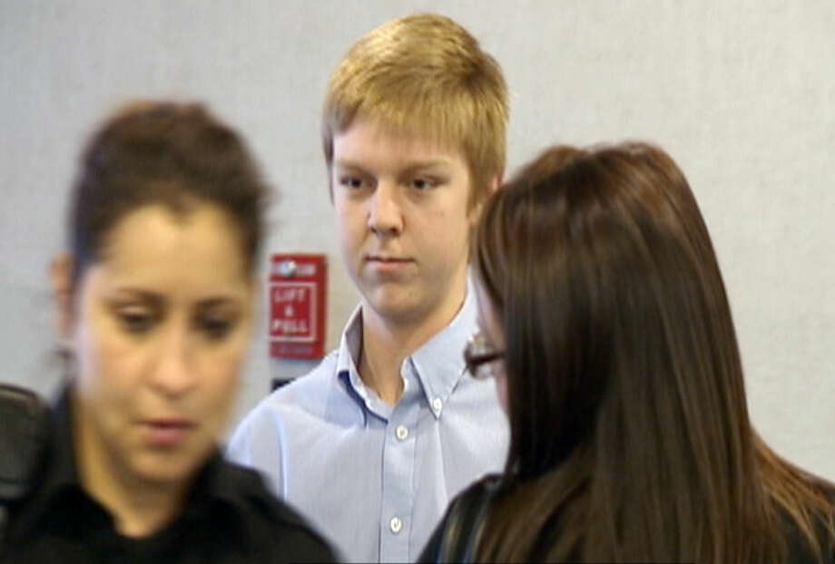 FILE - In this December 2013 image taken from a video by KDFW-FOX 4, Ethan Couch is seen during his court hearing in Fort Worth, Texas. The family of Couch, who killed four people in a drunken wreck, will pay a fraction of the cost of court-ordered treatment as part of his probation sentence. (AP Photo/KDFW-FOX 4, File) Photo: TEL